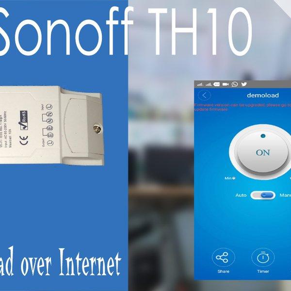 Home appliances control using SONOFF TH10 | Hackaday io
