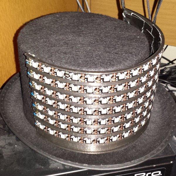 LED WiFi Hat   Hackaday io