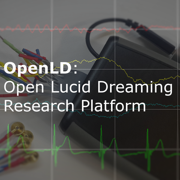 OpenLD: Lucid Dreaming Research Platform | Hackaday io