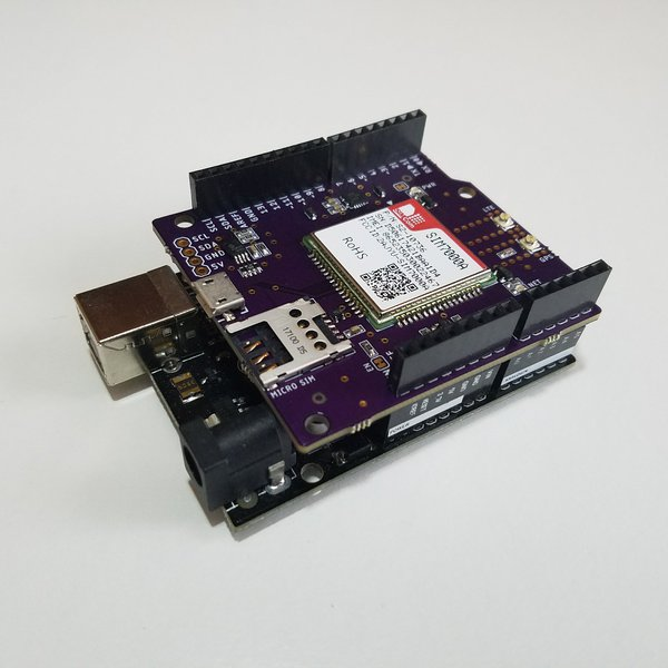 Lte cat m nb iot shield for arduino hackaday