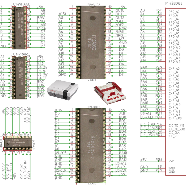 NES Motherboard | aday.io on