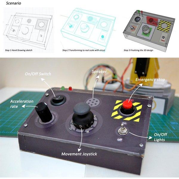 Circuito arduino controller pad hackaday