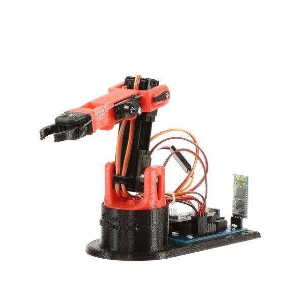 Littlearm c d printed robot arm hackaday
