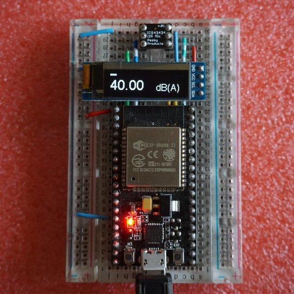 ESP32-I2S-SLM | Hackaday io