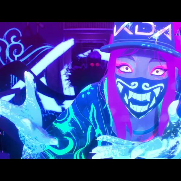 Reactive K Da Akali Dragon Mask Hackaday Io