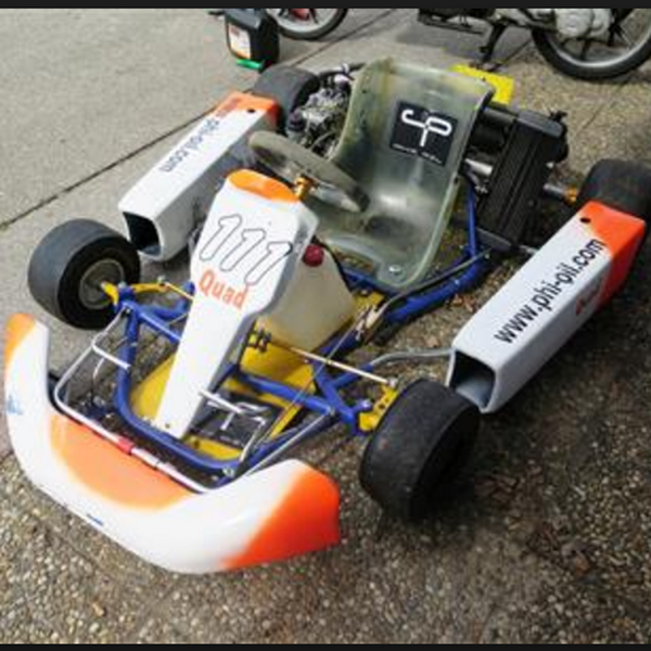 Traction Motor Controller For An Electric Go Kart