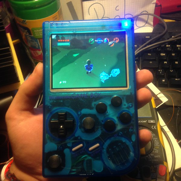 Raspberry Pi 3 Gameboy | Hackaday io