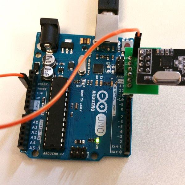 Arduino uno to nrf l header hackaday