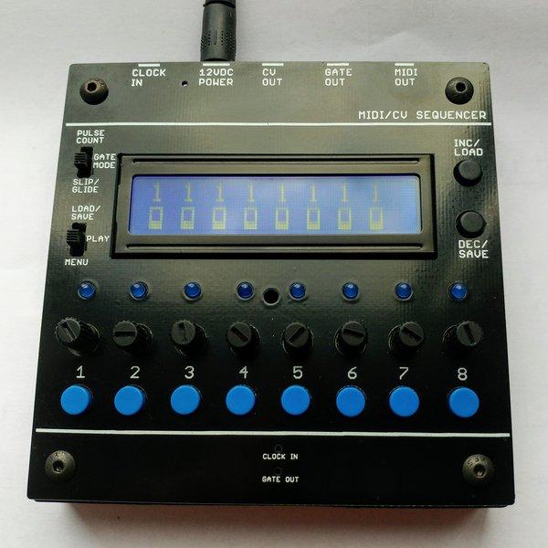 Arduino Urbium Sequencer MIDI CV GATE 8 STEPS   Hackaday io