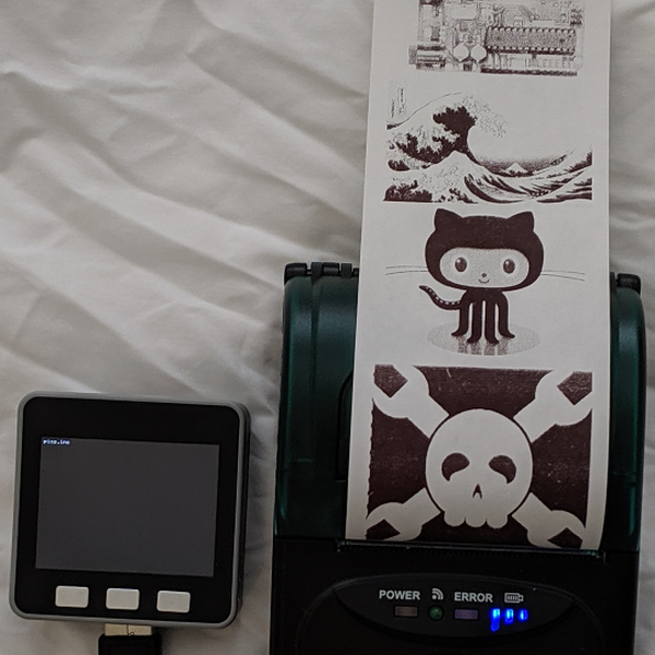 M5Stack Thermal Printer | Hackaday io