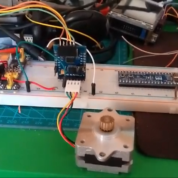 WEMOS Motor Shield firmware for steppers (I2C) | Hackaday io