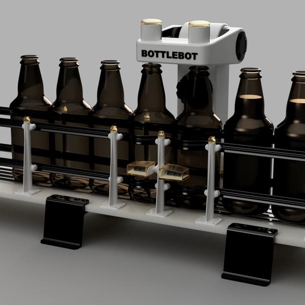 BottleBot - Bottle Filling Machine   Hackaday io