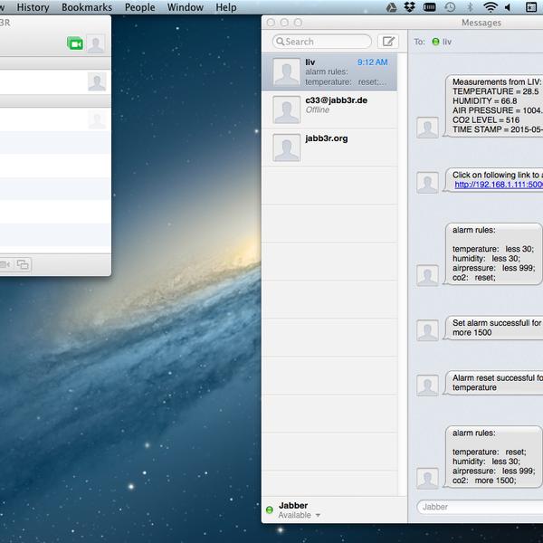 Raspberry Pi: Jabber/XMPP client | Hackaday io