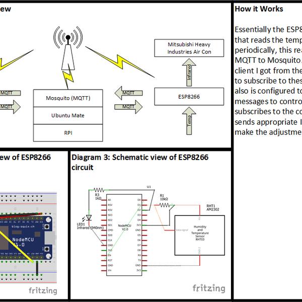 ESP8266 MQTT Infrared AirCon Control | Hackaday io