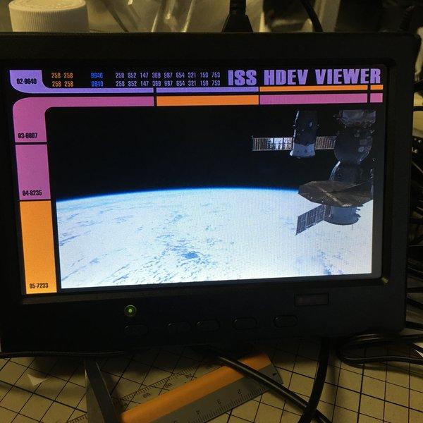 LCARS NASA ISS Live Stream Viewer | Hackaday io