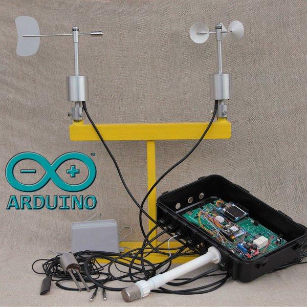 Arduino gprs iot weather station hackaday