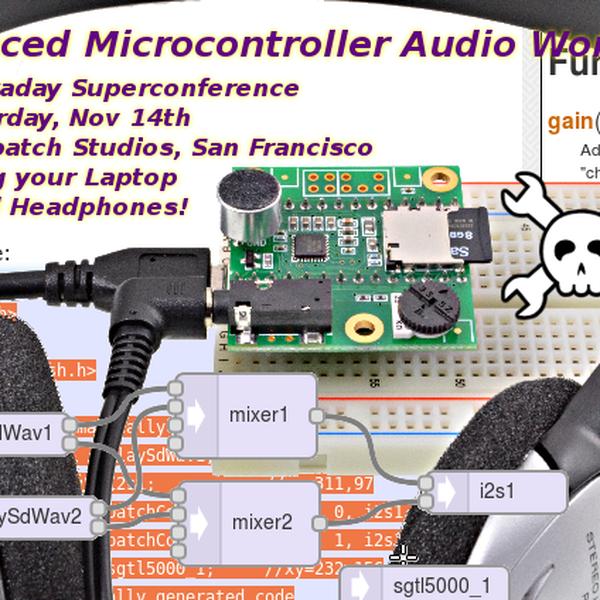 Microcontroller Audio Workshop & HaD Supercon 2015