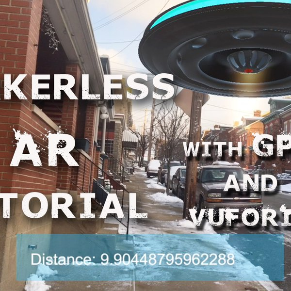 Markerless GPS Based AR with Vuforia and Unity | Hackaday io