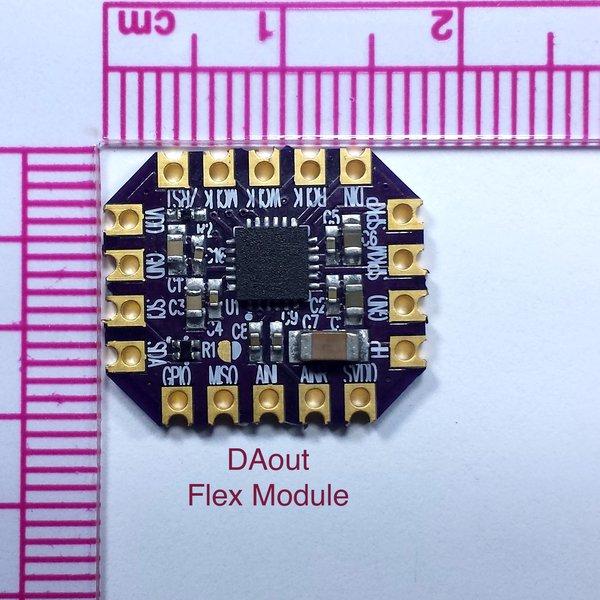 TAS2521 Digital Audio Out Flex Module | Hackaday io