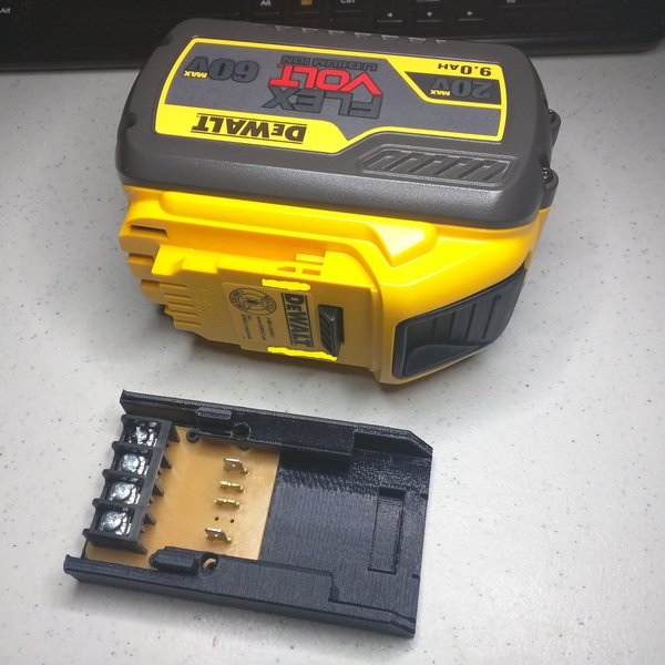 DeWalt Flexvolt 60v Battery Adapter   aday.io on