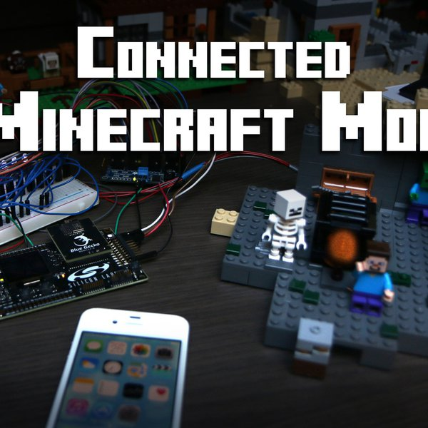 Bluetooth + Smartphone Minecraft Mod | Hackaday io