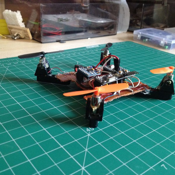 Quadcopter from scratch hackaday