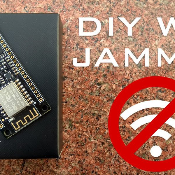 Wi-Fi Jammer from an ESP8266 | WiFi Deauther | Hackaday io