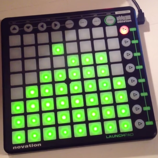 Novation launchpad controlled by arduino hackaday