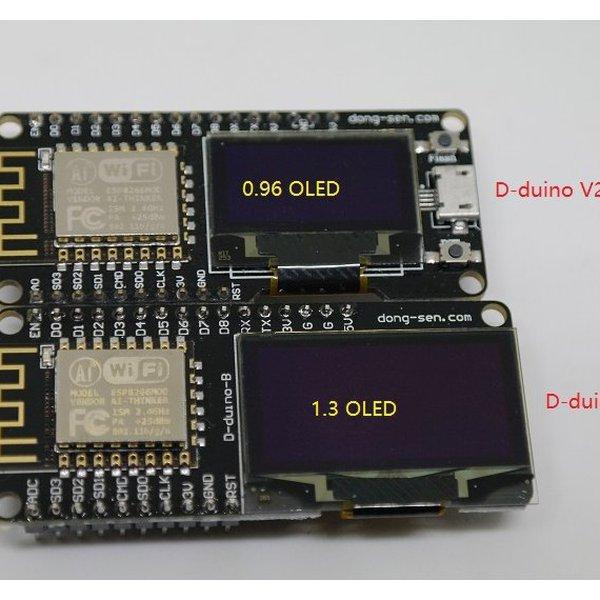 How to start with D-duino(D-duino-B&X-8266)   Hackaday io