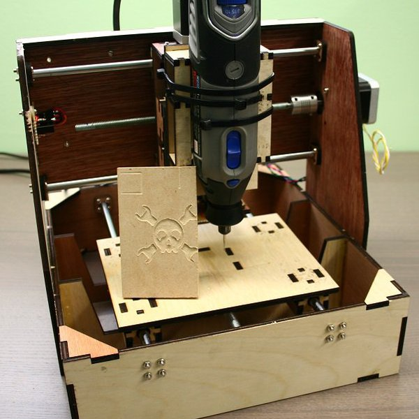 Laser Cut Mini Mill Hackaday Io