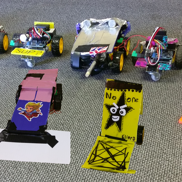Educational Battle Bots | Hackaday io