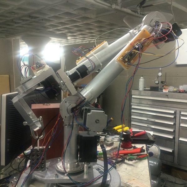 Open-Source 6-Axis Robotic Arm | Hackaday io